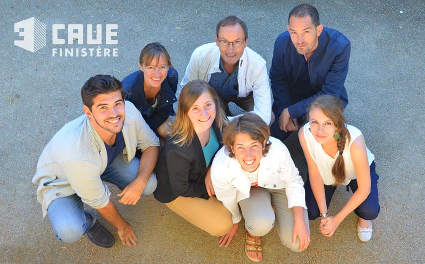 L'équipe du CAUE du Finistère