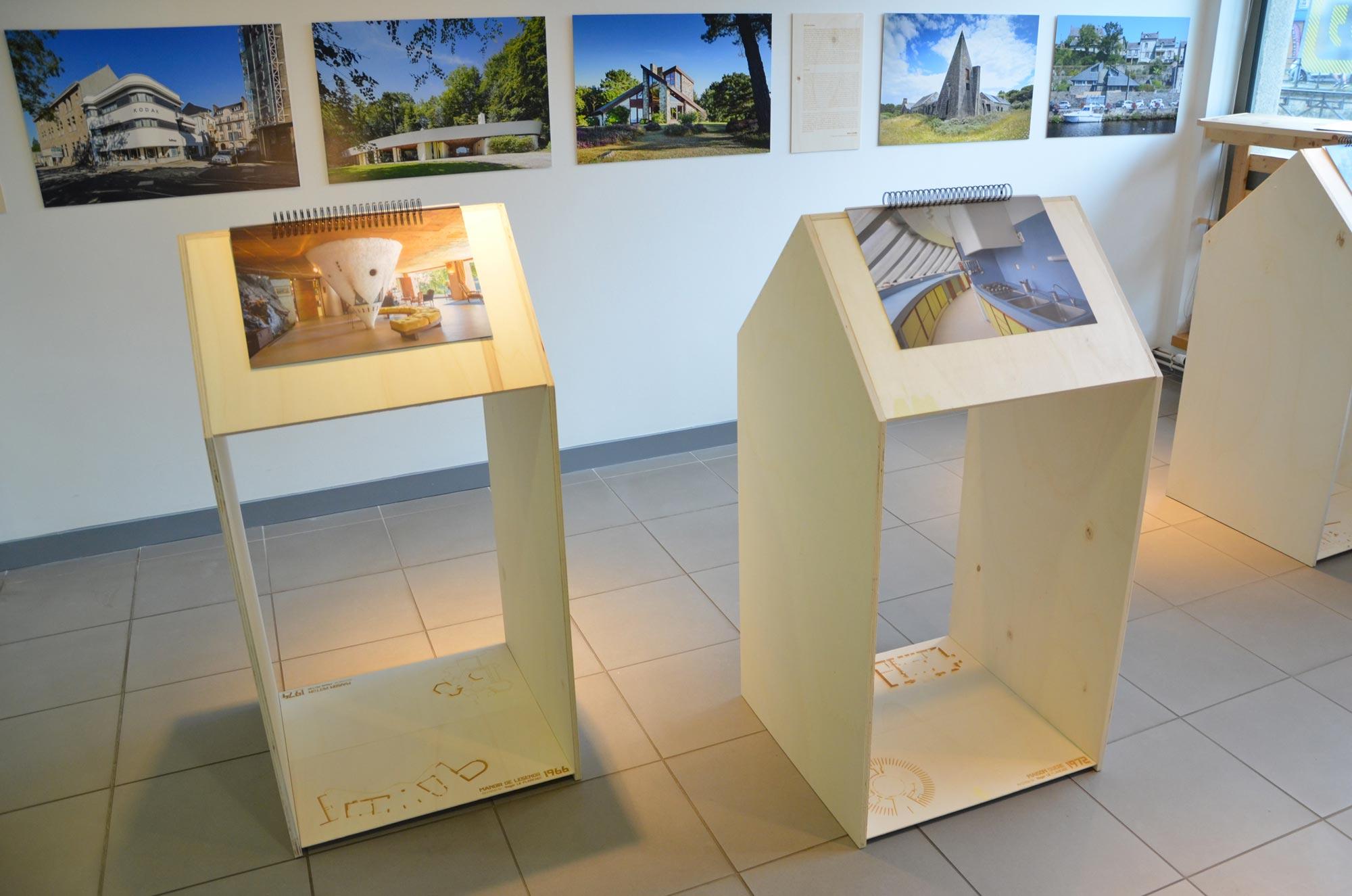 exposition, architecture, CAUE29, maisons, particulières